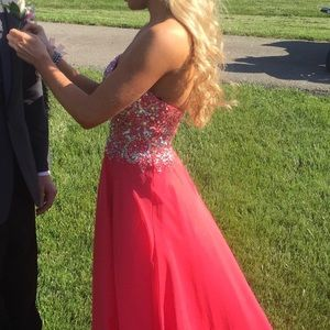 Alyce prom dress (pink) *only worn once*
